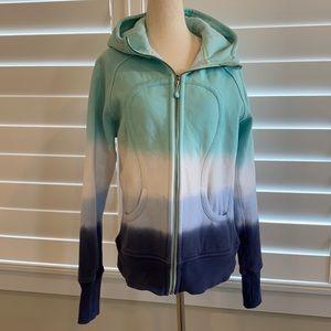 Lululemon sz 12 special edition Scuba zip hoodie